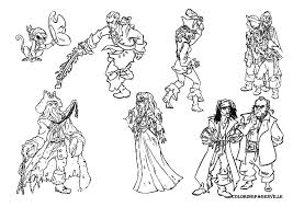 Small Picture Pirates Of The Caribbean Coloring Pages Coloring Pages Disney