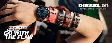 Diesel lança seu primeiro smartwatch