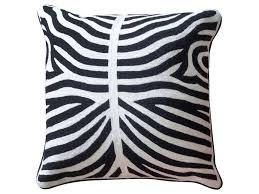 black and white accent pillows. Interesting Accent StyleCraft Accessories Black And White ZebraPatterned Accent Pillow Intended And Pillows