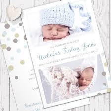 Printed Birth Announcement Printed Birth Announcement Rome Fontanacountryinn Com