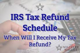 Irs Schedule Refund Chart 2018 2019 Irs Tax Refund Schedule Direct Deposit Dates 2018