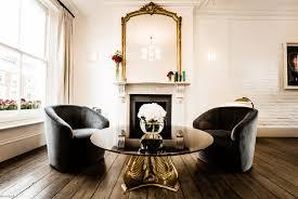 gold mirror fireplace mantel