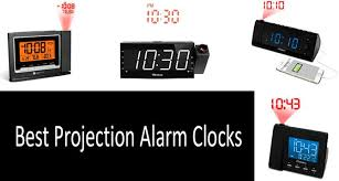 top 6 best projection alarm clocks in