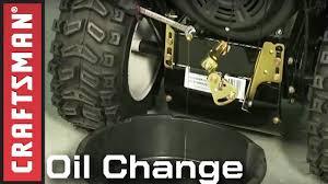 Snowblower Maintenance: Oil Change   Craftsman - YouTube