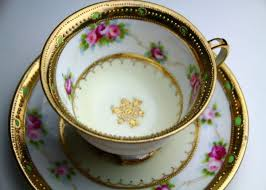 Antique Noritake China Patterns With Gold Edging Simple Our Antique Teacup Collection|Ginza Gomei Akita Beef Teppanyaki
