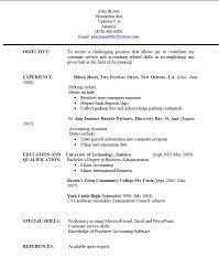 Resume Templates Jamaica Resume Writing University Of Technology