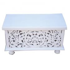 outstanding white trunk coffee table cromer blanket box on wheel whitewash hand carved chest tree rockford