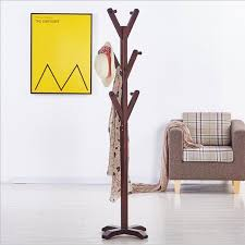 Wooden Coat Rack Stand Stunning Aliexpress Buy Modern Wooden Coat Rack Stand Cabide Home