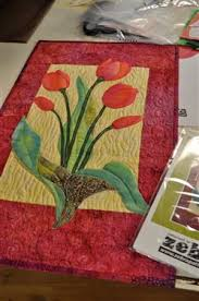 Simple Tulip Quilt by Debra Gabel as seen on Quilting Arts TV ... & Fusible Raw Edge -Simple Tulip Quilt by Debra Gabel as seen on Quilting  Arts TV Adamdwight.com