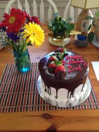 The Most Beautiful Delicious Birthday Cake Made In Hours Yelp