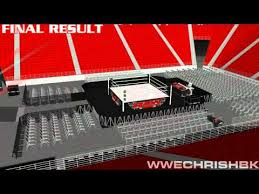 Wwe Raw Time Lapse Thomas And Mack Center Wch