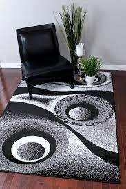 1504 white 5 2 7 2 area rug carpet large new