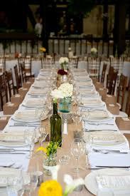 burlap table runner diy wedding a charming fete