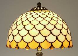 Ophelia Tiffany Style 16 Inch 1 Light Geometric Table Lamp Tiffany Lamp Small Lamp Stained Glass Lamp Bedside Lamp