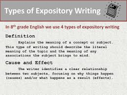 types of expository essays ppt expository writing powerpoint presentation id 2688606