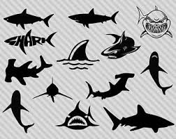 hammerhead shark clipart black and white. Wonderful Hammerhead Shark Svg Bundle Shark Clipart Silhouette Svg Hammerhead  Great White Dxf Png With Hammerhead Clipart Black And White