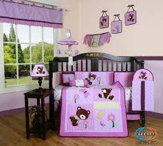 boutique girl teddy bear 13pcs crib bedding set review