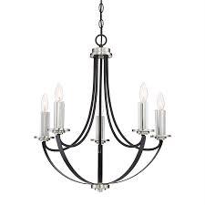 quoizel alana 4 light western bronze modern candle chandelier