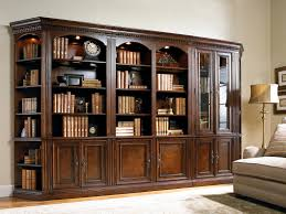 bookcases with doors on bottom. Five-Piece Library Wall Unit Bookcases With Doors On Bottom