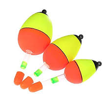 CUSHY <b>5 Pcs</b>/<b>Set</b> Night Glowing <b>Fishing Float</b> Glow Light Stick ...