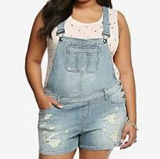plus size overalls shorts torrid shorts premium plus size 22 3x overall poshmark