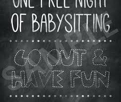 babysitting certificates printable free babysitting coupon template certificate