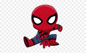 72 spiderman printable coloring pages for kids. Chibi Telegram Sticker Spiderman Homecoming Coloring Pages Chibi Free Transparent Png Clipart Images Download