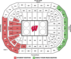 University Of Wisconsin Kohl Center Seating Chart University Of Wisconsin Online Ticket Office Seating Charts