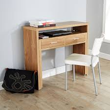 oak desks for home office. regis hideaway console desk oak desks for home office