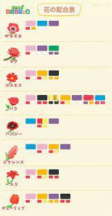 花 交配 とび 森