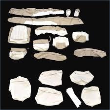 bayliner 195 nb oem almond white vinyl marine boat seat cover skin