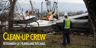 Marine Science Technician Clean Up Crew Facing Aftermath From One Of Floridas Most