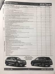 2018 volkswagen order guide. perfect volkswagen 2018 vw sportwagen order guide specification 768 x 1024 for volkswagen order guide