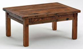 Barnwood Farm Style Coffee Table Great Pictures