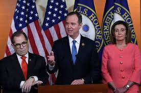 Image result for photos of pelosi, nadler and schiff together