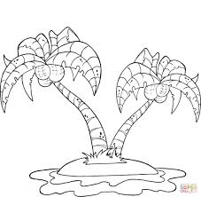 Small Picture Coloring Pages Some Of Coconut Palms Coloring Page Free Printable