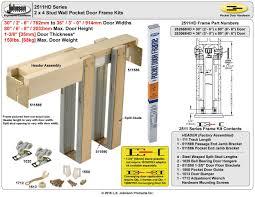 Pocket Door Retrofit Jhusanet Sliding Folding Pocket Door Hardware Johnson Hardware
