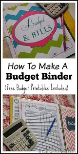 how to make a budget how to make a budget binder