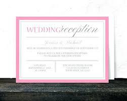 Wedding Reception Templates Free Best Wedding Invitation Templates Free Images On Reception