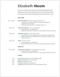 Google Docs Functional Resume Template Business Template