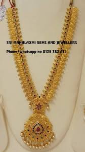 Hyderabad Gold Designs Sri Mahalaxmi Gems And Jewellers Secunderabad Jewellery