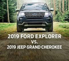 Large Suv Comparison Tool Compare 2019 Ford Explorer Vs