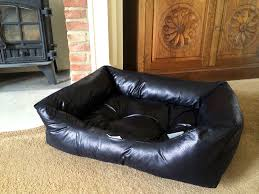 Tesco Living Room Furniture Tesco Faux Leather Dog Bed Large Noten Animals