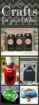 Craft For Kitchen 20 Crafts And Recycled Diy Projects For Your Kitchen