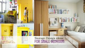 Small Bedroom Shelving Storage Design Ideas For Small Bedroom Youtube