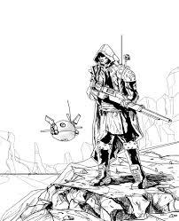 Trial By Comics Desert Sniper Inked Steemit