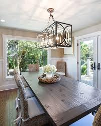 dining room rectangular crystal chandelier dining room table fixtures rectangle chandeliers modern linear island light design