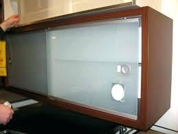 cabinet door track sliding cabinet door sliding kitchen cabinet door hardware sliding glass cabinet door track