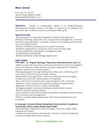 Great Project Manager Resume Highlights Lovely Images Of Management