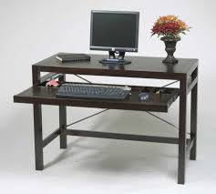 amazing computer desk small. fantastic design of the wood computer desk with black oak wooden color materials added a amazing small